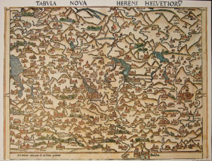 Holzschnittkarte 1513